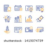 technical info  crowdfunding... | Shutterstock .eps vector #1415074739
