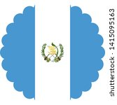 guatemala flag illustration... | Shutterstock .eps vector #1415095163