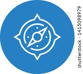 compass orientation navigator... | Shutterstock .eps vector #1415098979