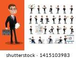 business person set. office... | Shutterstock .eps vector #1415103983
