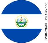 flag el salvado illustration... | Shutterstock .eps vector #1415109770
