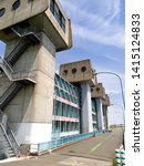 """iwabuchi water gate"" in tokyo   Shutterstock . vector #1415124833"