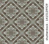 retro wallpaper or ancient...   Shutterstock .eps vector #1415139929