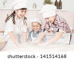 Happy Little Chefs Preparing...