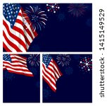 4th of july usa independence... | Shutterstock .eps vector #1415149529