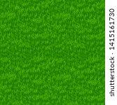 green grass field. grass border.... | Shutterstock .eps vector #1415161730