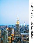 new york city   may 13  new...   Shutterstock . vector #141517684