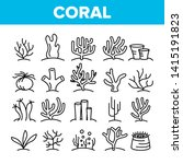 corals reefs and seaweed vector ... | Shutterstock .eps vector #1415191823