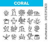 corals reefs and seaweed vector ... | Shutterstock .eps vector #1415191823