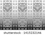 black and white relief convex... | Shutterstock . vector #1415232146