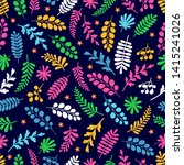 beautiful pattern in abstract... | Shutterstock .eps vector #1415241026