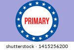 primary election on a usa...   Shutterstock . vector #1415256200