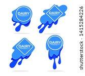dairy product  milk  cream   ...   Shutterstock .eps vector #1415284226
