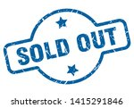 sold out vintage stamp. sold... | Shutterstock .eps vector #1415291846