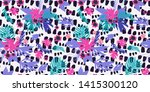 painting trendy illustration... | Shutterstock . vector #1415300120