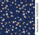 cute floral pattern of small... | Shutterstock .eps vector #1415353259