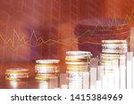 financial investment concept ... | Shutterstock . vector #1415384969