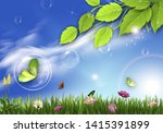 background  abstraction ... | Shutterstock . vector #1415391899