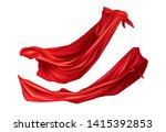 red cloaks superhero costume... | Shutterstock .eps vector #1415392853