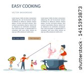 easy cooking landing page...