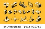 transport logistic  supplier ... | Shutterstock .eps vector #1415401763