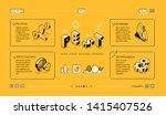 pest analysis  business... | Shutterstock .eps vector #1415407526