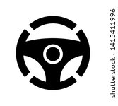 car wheel icon. vector... | Shutterstock .eps vector #1415411996