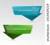vector graphic design banner... | Shutterstock .eps vector #1415429219