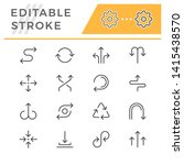 set editable stroke line icons...