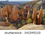 spires from erosion | Shutterstock . vector #141545110