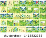 vector illustration eco... | Shutterstock .eps vector #1415532353