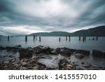 Landscape Of Loch Ness Lake ...