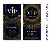 vip club party premium...   Shutterstock .eps vector #1415577299