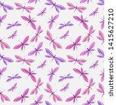 vector illustration of brightly ... | Shutterstock .eps vector #1415627210