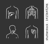 ill human organs chalk icons... | Shutterstock .eps vector #1415645246