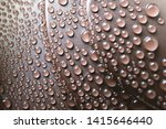 drops of water on the plastic... | Shutterstock . vector #1415646440
