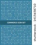 shopping vector icon set design | Shutterstock .eps vector #1415658710