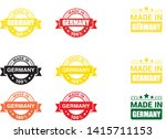 made in the germany rubber... | Shutterstock .eps vector #1415711153