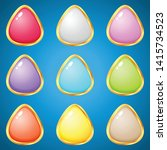gems triangle 9 colors for...