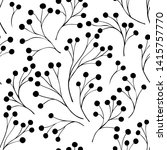 seamless pattern with abstract... | Shutterstock .eps vector #1415757770