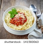 Spaghetti Bolognese With Minced ...