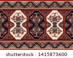 colorful ornamental vector... | Shutterstock .eps vector #1415873600