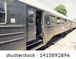 old vintage railway carriages.... | Shutterstock . vector #1415892896