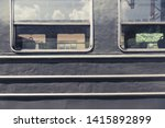 old vintage railway carriages.... | Shutterstock . vector #1415892899