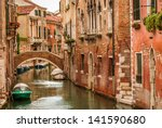 historic houses of the grand... | Shutterstock . vector #141590680
