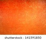 abstract orange background... | Shutterstock . vector #141591850