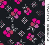 flower pattern elegant floral...   Shutterstock .eps vector #1415939339