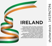 ireland independence day with... | Shutterstock .eps vector #1415967296