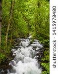 Bridal veil creek, Columbia River Gorge National scenic area, Oregon