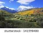 mount sneffels range  colorado  ... | Shutterstock . vector #141598480